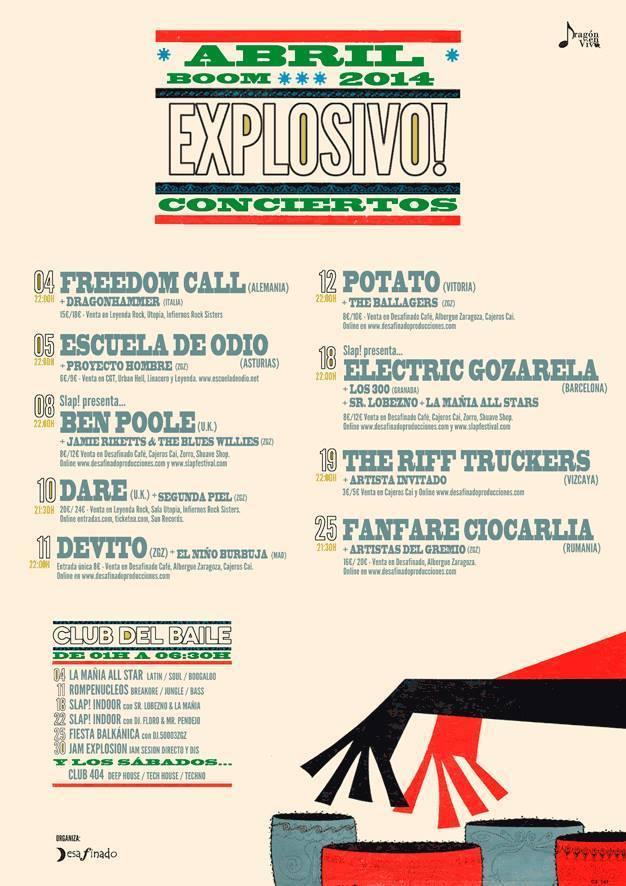 Compartimos escenario con unos grandes… FANFARE CIOCARLIA!!